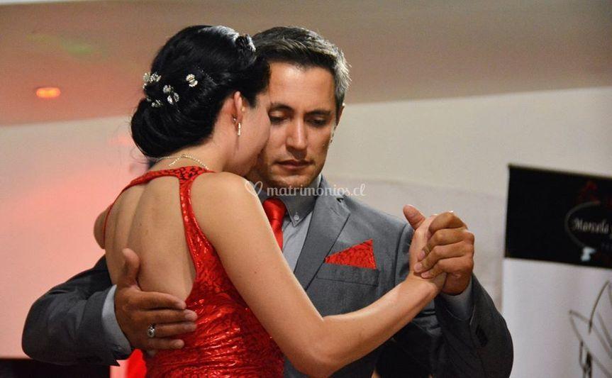 Presentación gala de tango