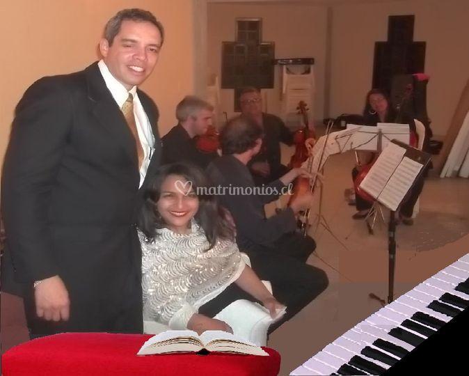 Tenor, Soprano, Piano y Cuarte