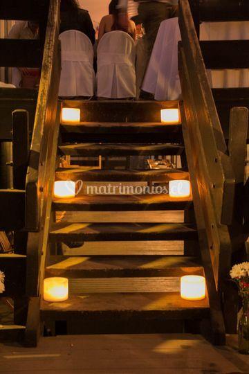 Vela Fanal para escalera