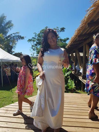 Vestido de novia ivori