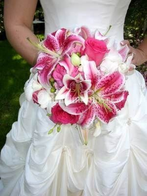 Ramo novias lilium orientales