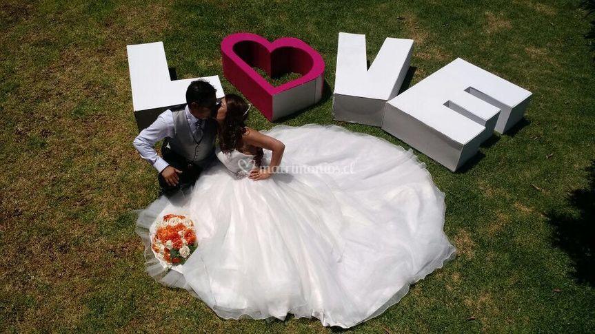 Ramo de rosas para novia