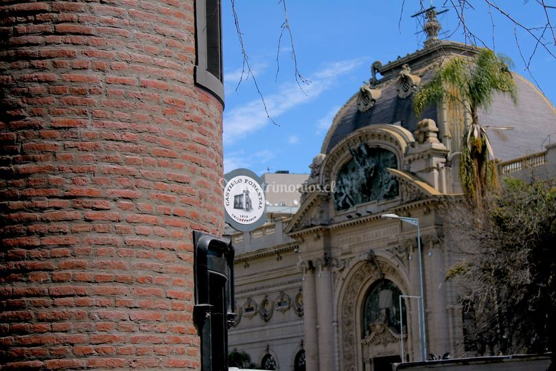 Vista al Museo de Bellas Artes