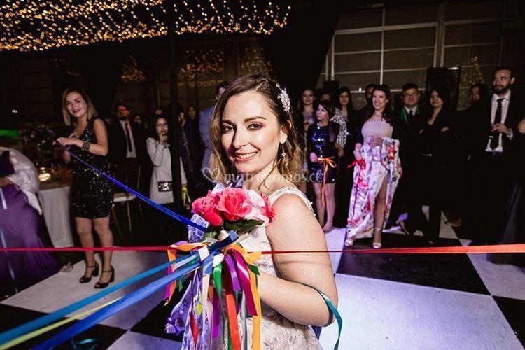 Foto de novia real - DimequeSí