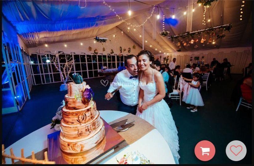 Cake montaje