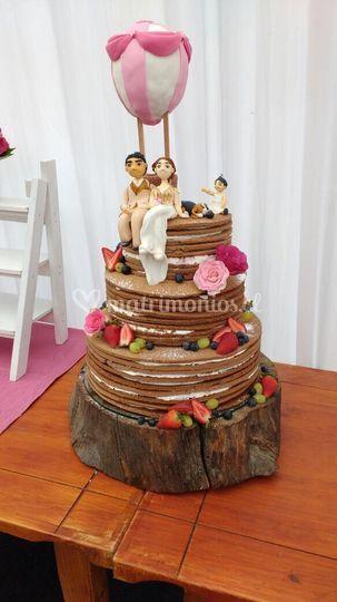 Cake desnuda