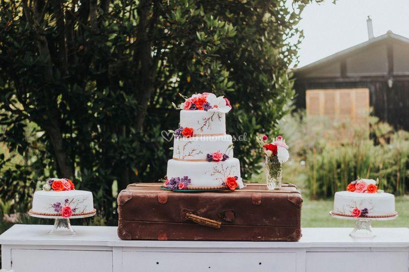 Cake dispersa