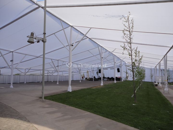 Carpa 3000 mts Movistar Arena