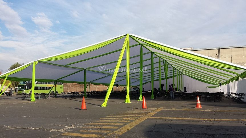 Carpas anexi n eventos for Proveedor de toldos