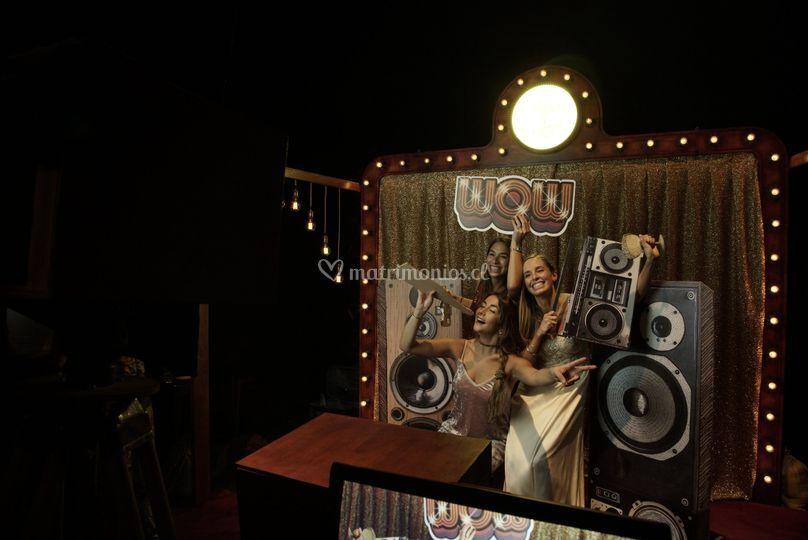 La Novia Record - Cabina de fotos