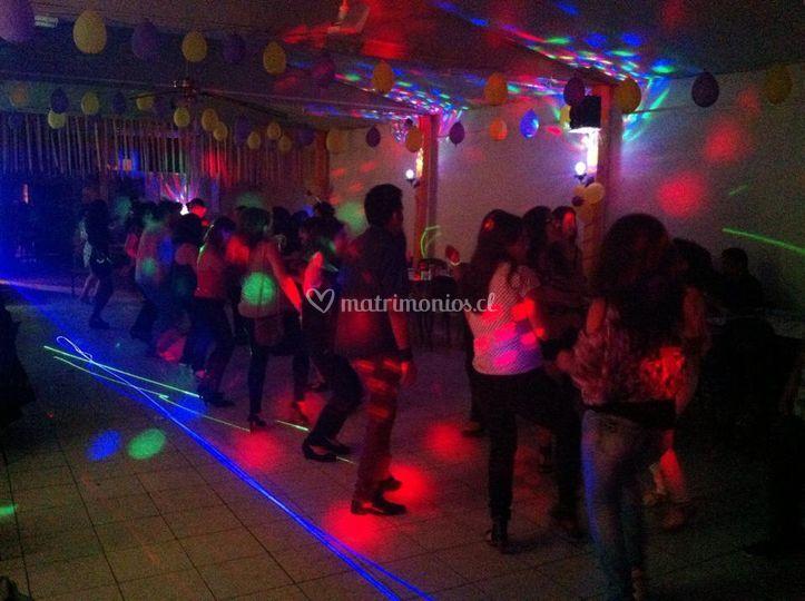 Iluminación para bailable