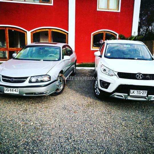Variados vehículos