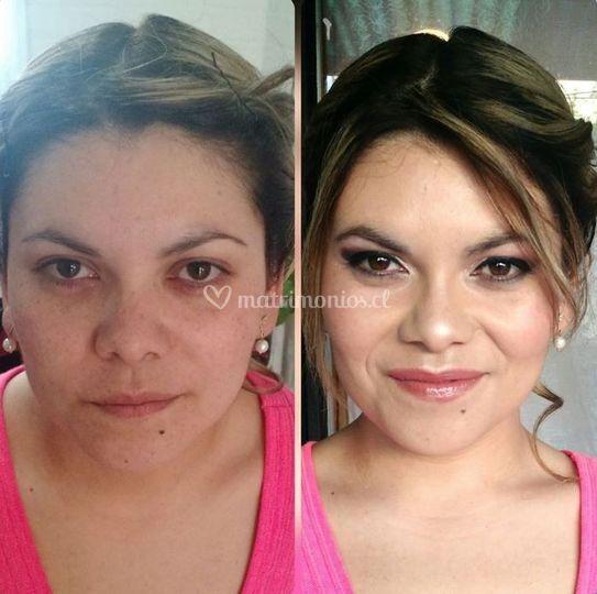 Carola martínez make-up