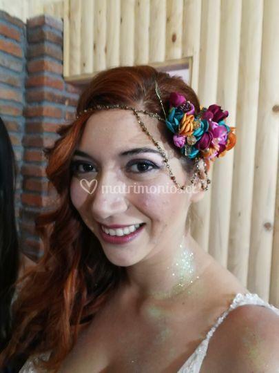 Novia Camila, ¡bella!