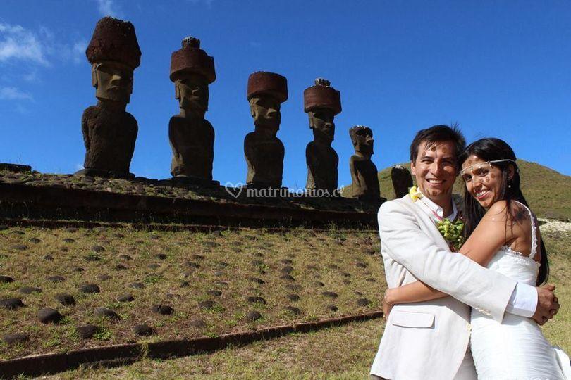 Isla de Pascua matrimonios