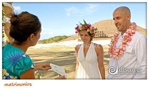 Matrimonio en Tahai