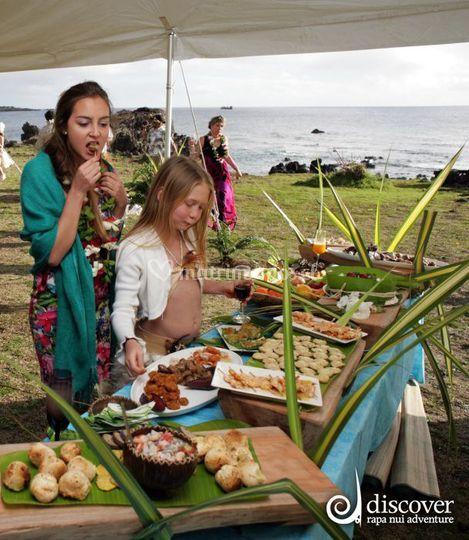 Degustación productos de la isla
