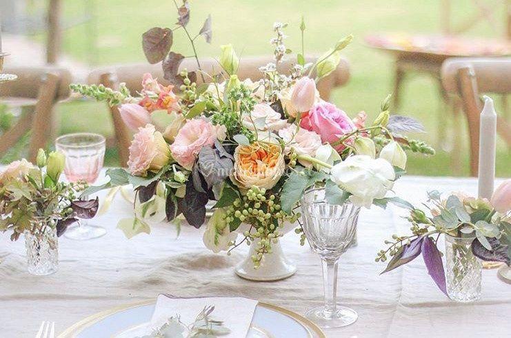Deco azahar flores