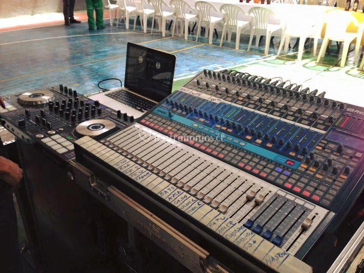 Audio y dj
