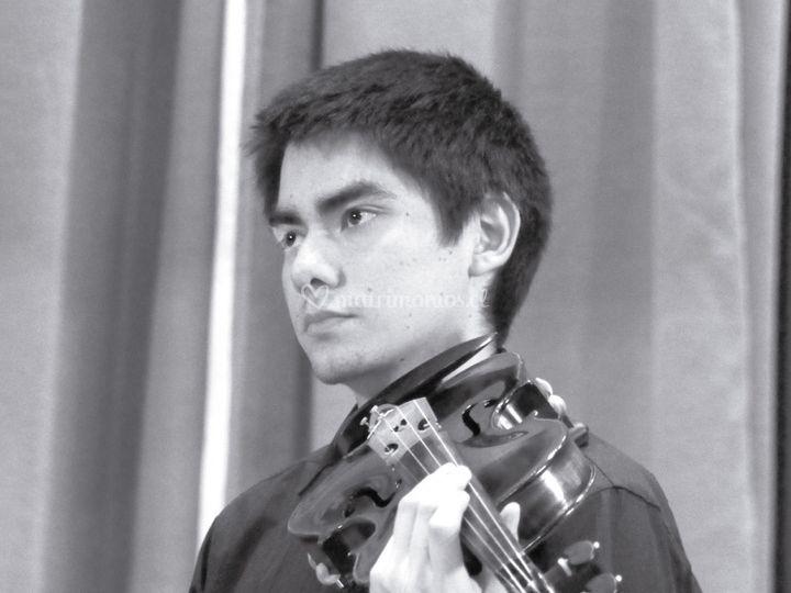 Violinista Manuel Cisternas