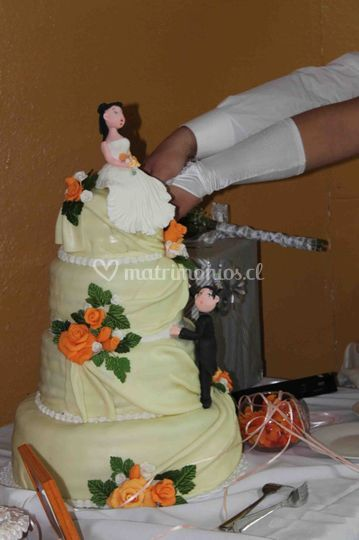 Pastel matrimonio Hualqui
