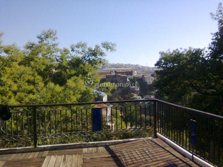 Vista de la terraza