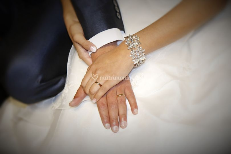 Los anillos. Isra &Tabi