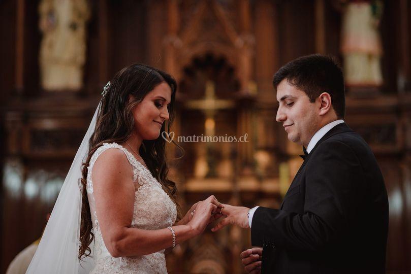 Marcela y Diego
