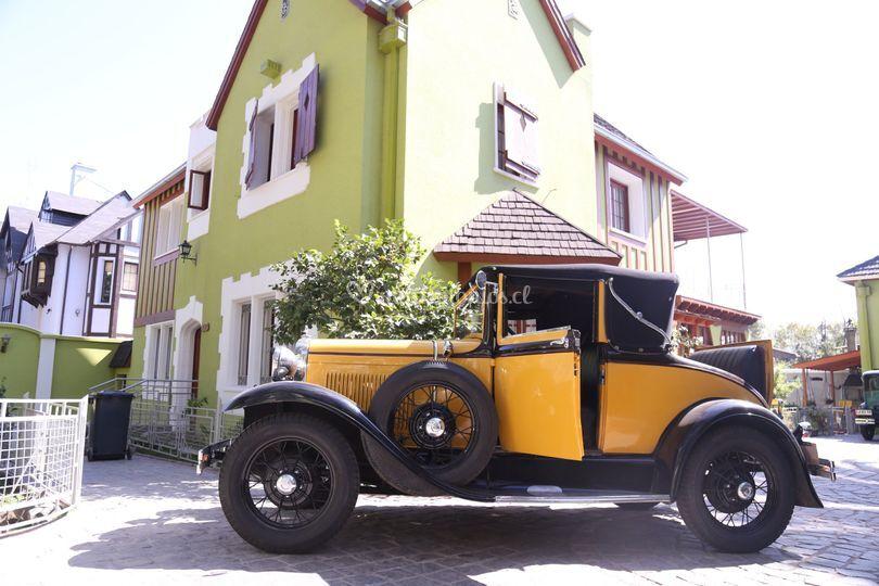 Ford A 1931, 2 puertas descapotable