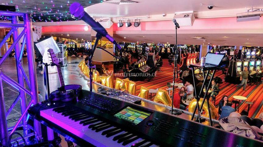 Evento en Casino Marina