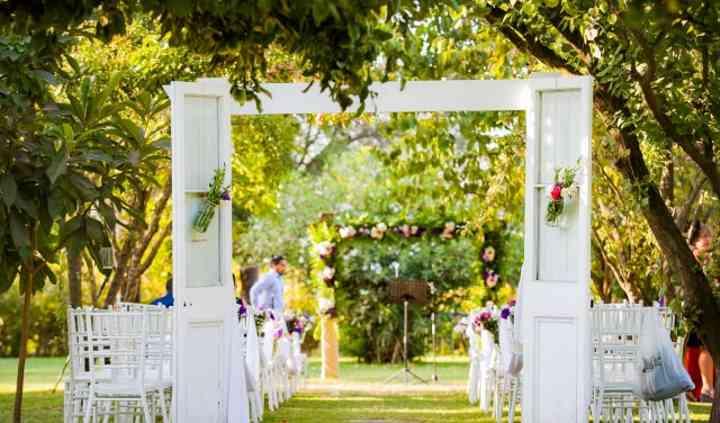 Ceremonia área frutales