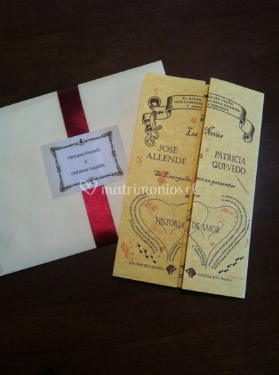 Invitacion Harry Potter