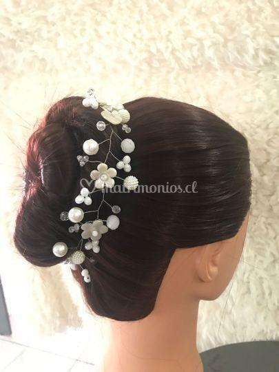 Cerámica y perlas