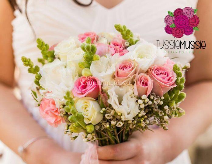 Ramo de novia mixto de flores