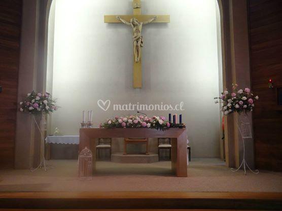 Decoración capilla San Patricio