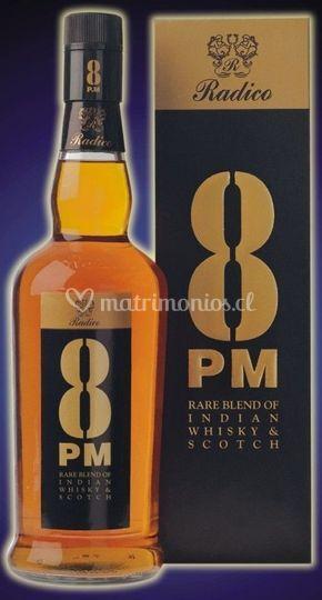 Whisky 8 pm