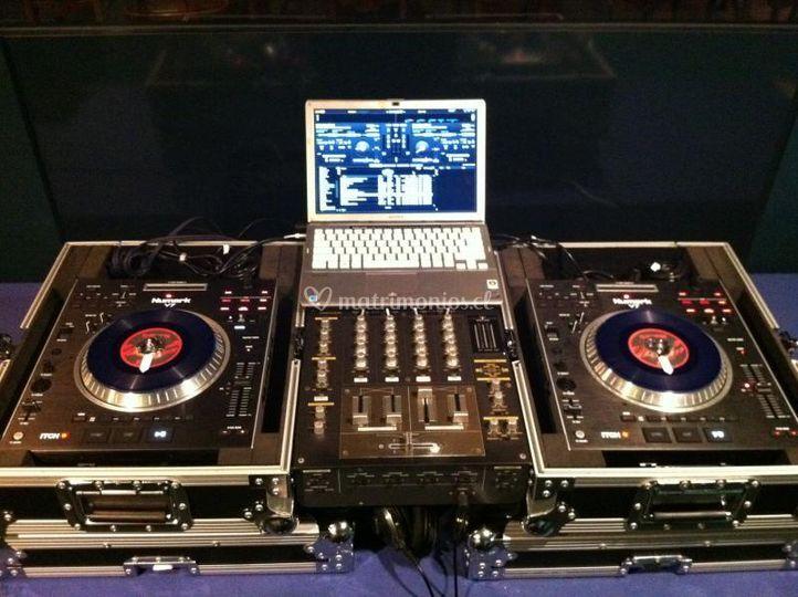 Equipos DJ's
