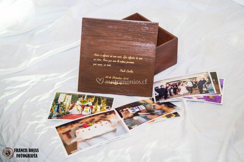 Caja book personalizada