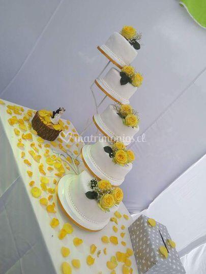 Torta dorada