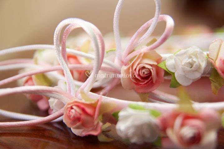 Tiaras pajes flores
