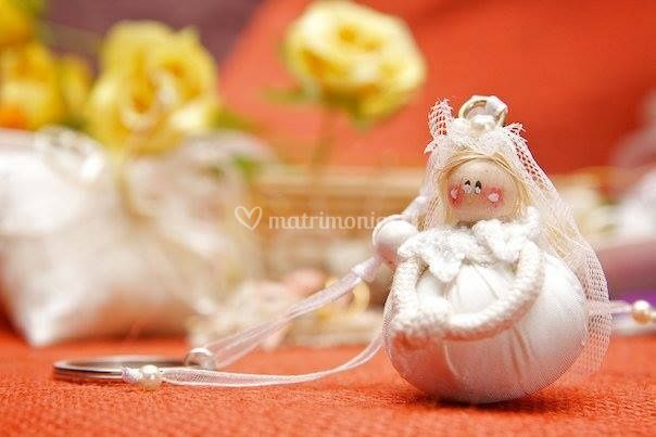 Souvenir novia llavero