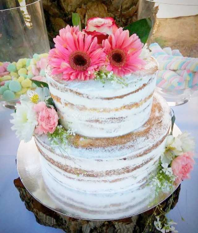 Naked Flores Naturales De Zurys Tortas Cupcakes Foto 16