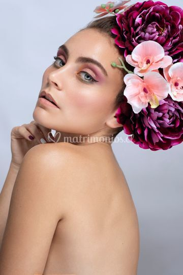 Constanza Baldelomar Maquillaje