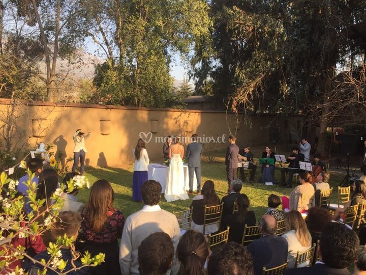 Matrimonio Cristian y Conti