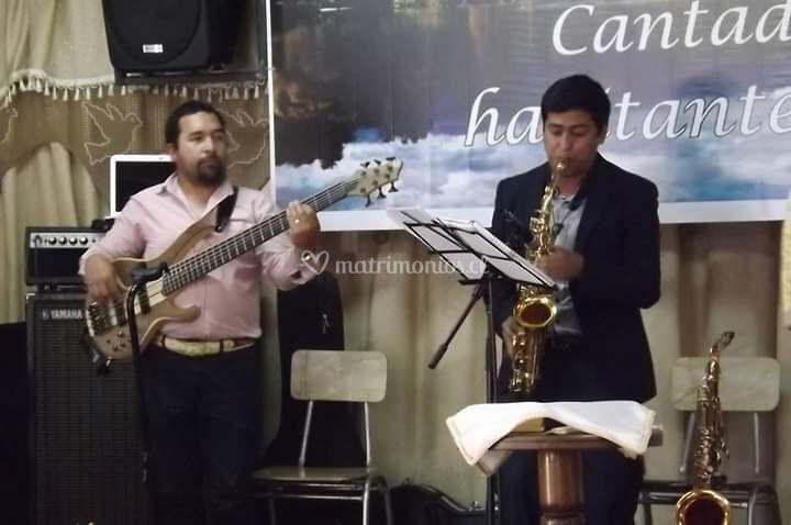 Saxofonista Jocsan Bravo
