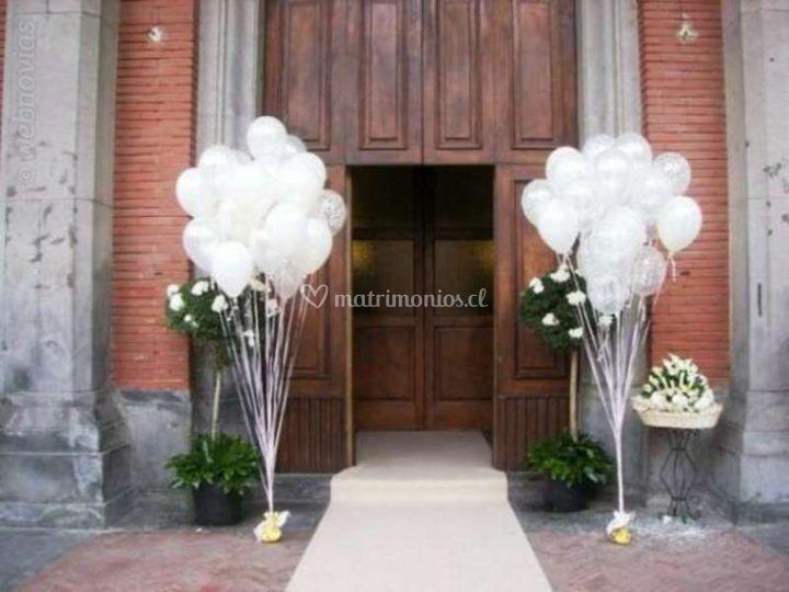 mi boda globos con helio