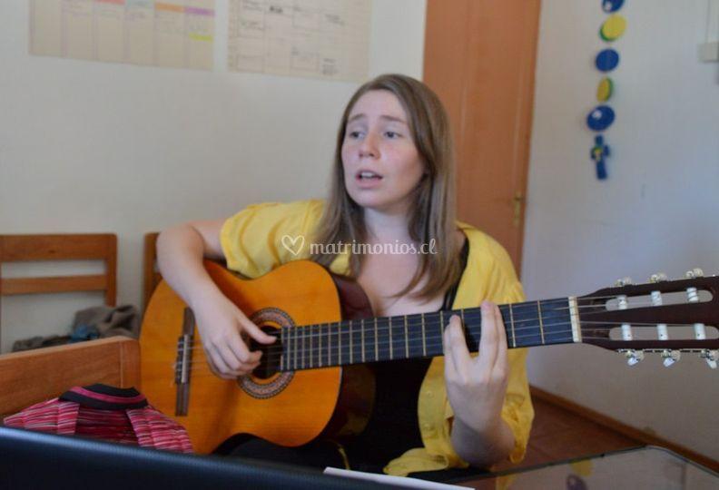 Guitarra y soprano