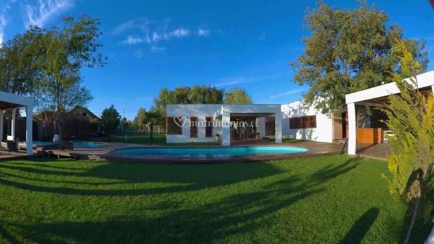 Sector Terrazas y piscinas