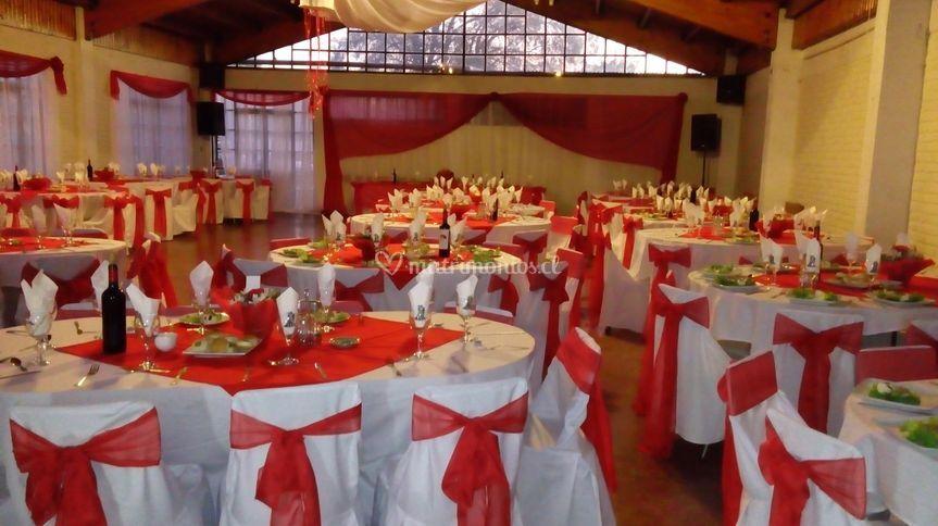 Matrimonio de 250 personas