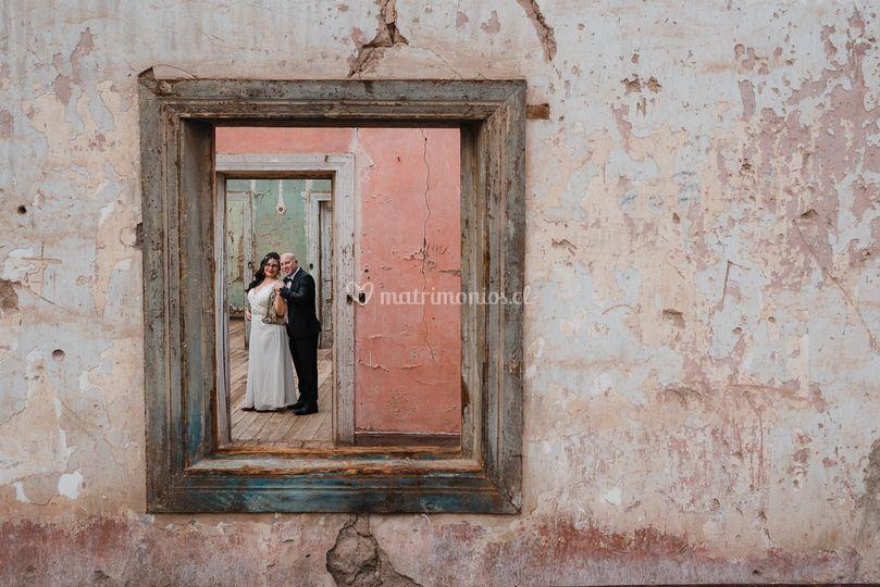 Post boda en el desierto
